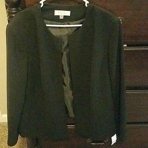 Kasper plus size black blazer NWT